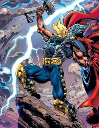 Thor Marvel Comic Book