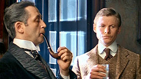 Livanov as Holmes and Solomin as Watson