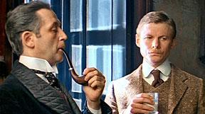 Livanov as Holmes and Solomin as Watson