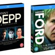 Win Johnny Depp (4 film) & Harrison Ford (5 film) Collections on Blu-ray
