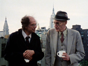 Allen Ginsberg and William Burroughs