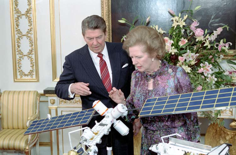 Shadow World Reagan and Thatcher